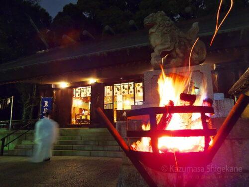 夏越大祓の夜