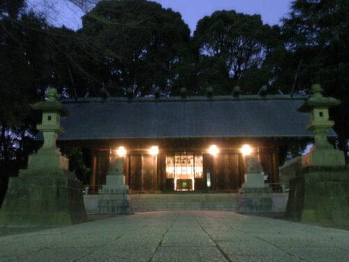 夜の神明社