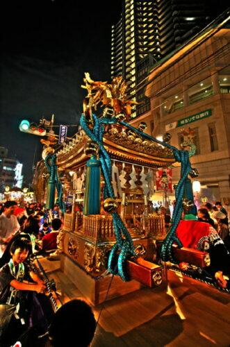 2011年ところざわ祭にて お神輿
