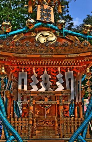 神明社お神輿